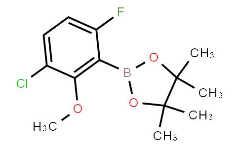 BP23287 | 2121513-63-9 | 3-Chloro-6-fluoro-2-methoxyphenylboronic acid pinacol ester