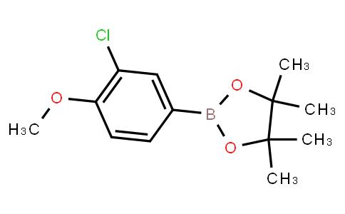 BP23312   1165936-01-5   3-Chloro-4-methoxyphenylboronic acid pinacol ester