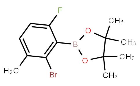 BP23320 | 2121512-72-7 | 2-Bromo-6-fluoro-3-methylphenylboronic acid pinacol ester