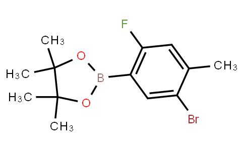 BP23333 | 1111096-03-7 | 2-(5-Bromo-2-fluoro-4-methylphenyl)-4,4,5,5-tetramethyl-1,3,2-dioxaborolane