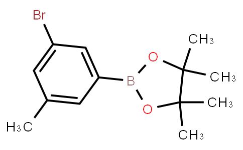 BP23335   942069-53-6   2-(3-Bromo-5-methylphenyl)-4,4,5,5-tetramethyl-1,3,2-dioxaborolane
