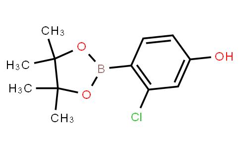 BP23337 | 1029439-70-0 | 3-Chloro-4-(4,4,5,5-tetramethyl-1,3,2-dioxaborolan-2-yl)phenol