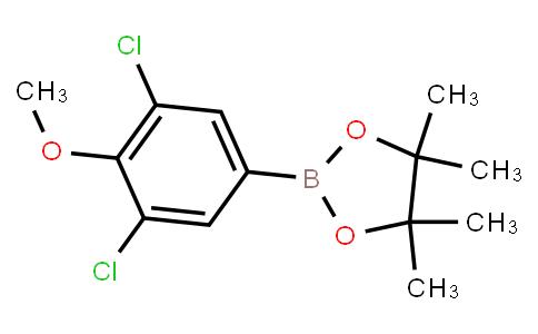 BP23344 | 942069-69-4 | 2-(3,5-Dichloro-4-methoxyphenyl)4,4,5,5-tetramethyl-1,3,2-dioxaborolane