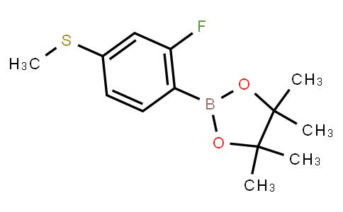 BP23345 | 1436431-16-1 | 2-Fluoro-4-methylthiophenylboronic acid pinacol ester