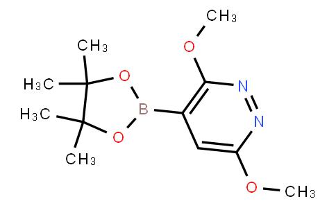 BP23347   1855861-18-5   3,6-Dimethoxylpyridazine-4-boronic acid pinacol ester