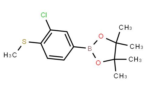 BP23354 | 1438262-39-5 | 3-Chloro-4-(methylthio)phenylboronic acid pinacol ester
