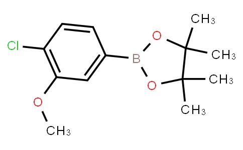 BP23357 | 627525-96-6 | 4-Chloro-3-methoxyphenylboronic acid pinacol ester