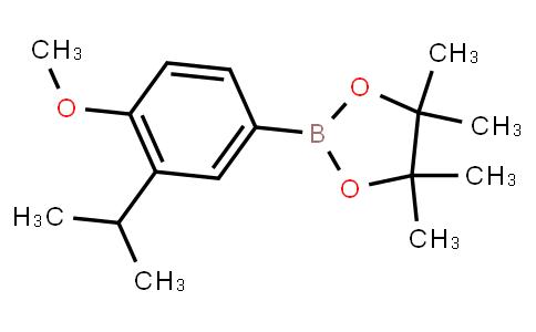 BP23358 | 2121513-08-2 | 4-Methoxy-3-(1-methylethyl)phenylboronic acid pinacol ester