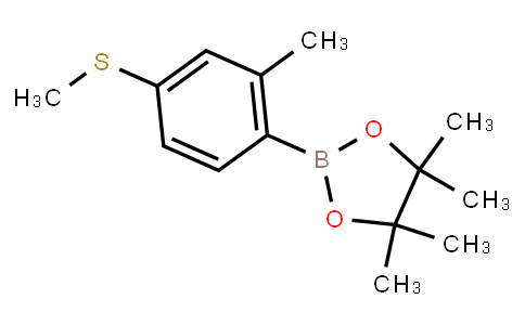 BP23362   1899905-99-7   2-Methyl-4-methylthiophenylboronic acid pinacol ester