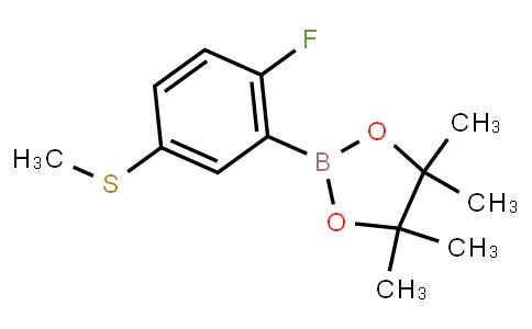 BP23371 | 2121512-06-7 | 2-Fluoro-5-(methylthio)phenylboronic acid pinacol ester