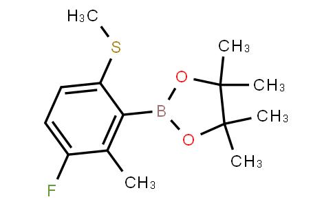 BP23375 | 2121512-53-4 | 3-Fluoro-2-methyl-6-(methylthio)phenylboronic acid pinacol ester