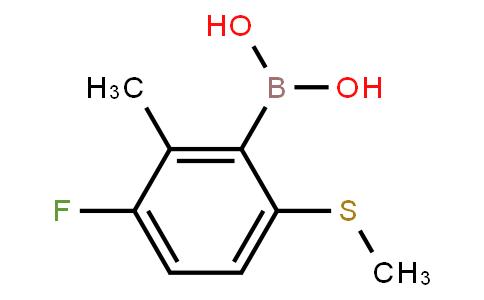 BP23376   2121512-05-6   3-Fluoro-2-methyl-6-(methylthio)phenylboronic acid