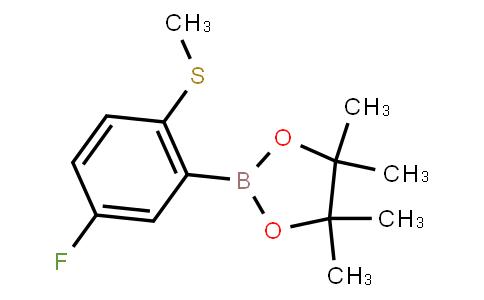 BP23379 | 1428532-52-8 | 5-Fluoro-2-(methylthio)phenylboronic acid pinacol ester