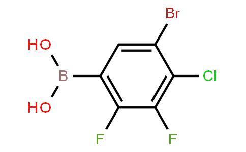 BP23384 | 2121515-06-6 | 5-Bromo-4-chloro-2,3-difluorophenylboronic acid