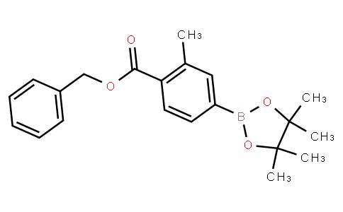 BP23394 | 2121511-93-9 | 4-(Benzyloxycarbonyl)-3-methylphenylboronic acid pinacol ester