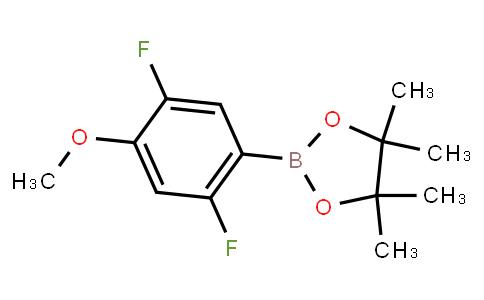 BP23395 | 2121515-03-3 | 2,5-Difluoro-4-methoxyphenylboronic acid pinacol ester