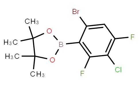 BP23399   2121515-01-1   6-Bromo-3-chloro-2,4-difluorophenylboronic acid pinacol ester