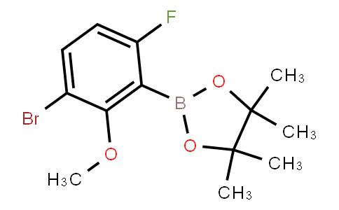 BP23404 | 2121511-98-4 | 3-Bromo-6-fluoro-2-methoxyphenylboronic acid pinacol ester