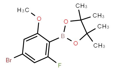 BP23405 | 2121513-32-2 | 4-Bromo-2-fluoro-6-methoxyphenylboronic acid pinacol ester