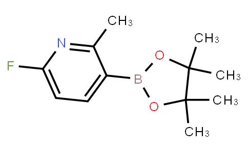 BP23411 | 1310405-22-1 | 6-Fluoro-2-methyl-3-(4,4,5,5-tetramethyl-1,3,2-dioxaborolan-2-yl)pyridine