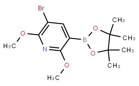 BP23421   2121511-88-2   5-Bromo-2,6-dimethoxypyridine-3-boronic acid pinacol ester