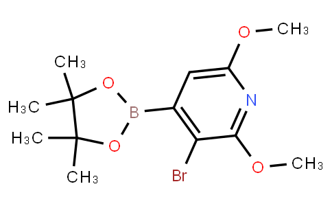 BP23424 | 2121511-86-0 | (3-Bromo-2,6-dimethoxypyridin-4-yl)boronic acid pinacol ester