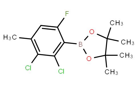 BP23430 | 2121513-26-4 | 2-(2,3-Dichloro-6-fluoro-4-methylphenyl)-4,4,5,5-tetramethyl-1,3,2-dioxaborolane