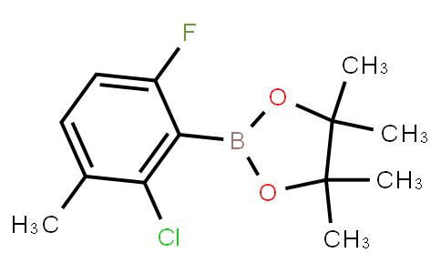BP23435   1688672-06-1   2-Chloro-6-fluoro-3-methylphenylboronic acid pinacol ester