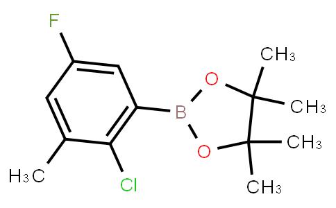 BP23443 | 2121512-19-2 | 2-Chloro-5-fluoro-3-methylphenylboronic acid pinacol ester