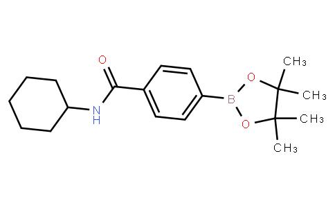 BP23450 | 1312815-22-7 | 4-(Cyclohexylaminocarbonyl)phenylboronic acid pinacol ester