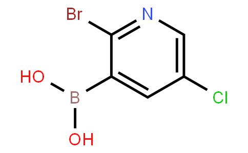 BP23456 | 2121511-66-6 | 2-Bromo-5-chloropyridine-3-boronic acid