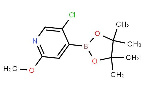 BP23462 | 2121514-91-6 | 5-Chloro-2-methoxypyridine-4-boronic acid pinacol ester