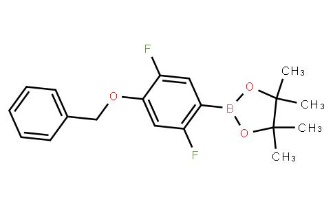 BP23484 | 2121514-83-6 | 2,5-Difluoro-4-benzyloxyphenylboronic acid pinacol ester