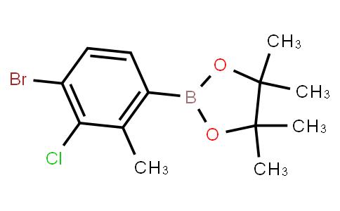 BP23499   1799612-59-1   4-Bromo-3-chloro-2-methylphenylboronic acid pinacol ester