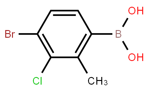 BP23500 | 2121514-78-9 | 4-Bromo-3-chloro-2-methylphenylboronic acid