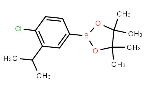 BP23516   2121511-69-9   2-(4-Chloro-3-isopropylphenyl)-4,4,5,5-tetramethyl-1,3,2-dioxaborolane
