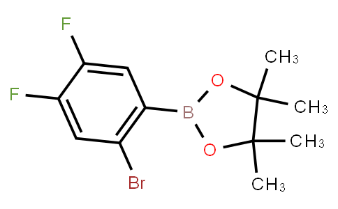 BP23523 | 1595078-09-3 | 2-Bromo-4,5-difluorophenylboronic acid pinacol ester