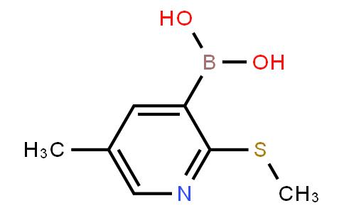BP23577   2121513-52-6   5-Methyl-2-(methylthio)pyridine-3-boronic acid