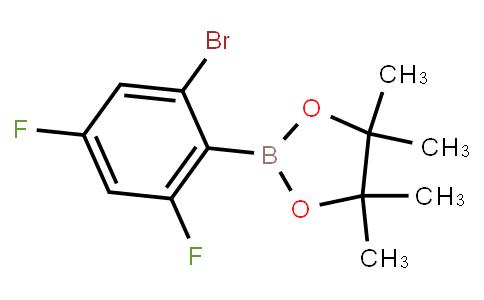 BP23614 | 2121513-38-8 | 2,4-Difluoro-6-bromophenylboronic acid pinacol ester
