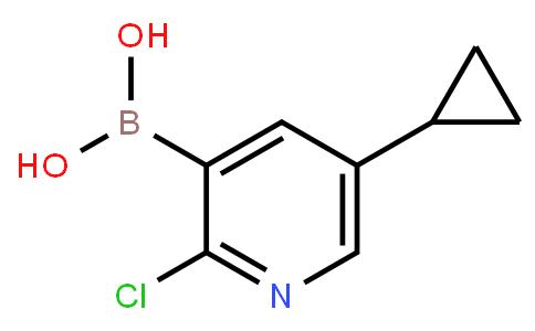 BP23644 | 2121511-56-4 | 2-Chloro-5-cyclopropylpyridine-3-boronic acid