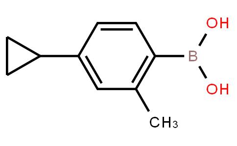 BP23645   2121514-07-4   4-Cyclopropyl-2-methylphenylboronic acid