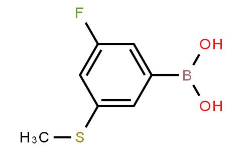 BP23646 | 2121513-60-6 | 3-Fluoro-5-(methylthio)phenylboronic acid