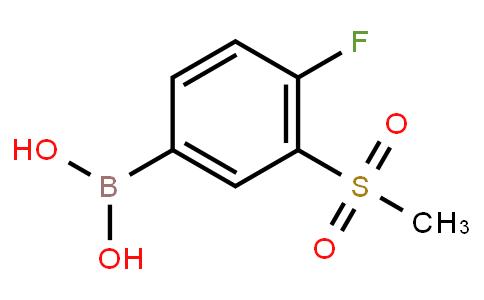 BP23657 | 1268496-35-0 | 4-Fluoro-3-(methanesulfonyl)phenylboronic acid