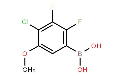 BP23661 | 2121513-09-3 | 4-Chloro-2,3-difluoro-5-methoxyphenylboronic acid