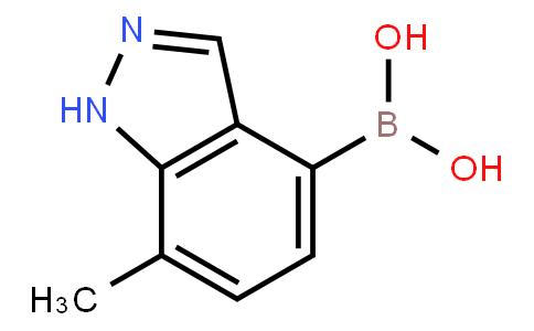 BP23662 | 1310404-46-6 | 7-Methyl-1H-indazole-4-boronic acid