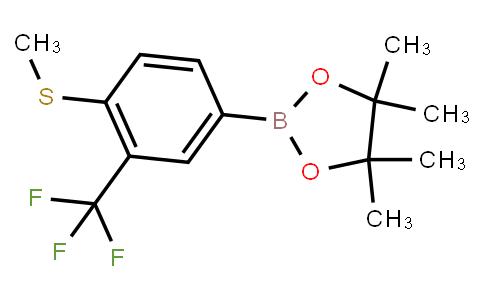 BP23666   779331-59-8   4-Methylthio-3-(trifluoromethyl)phenylboronic acid pinacol ester