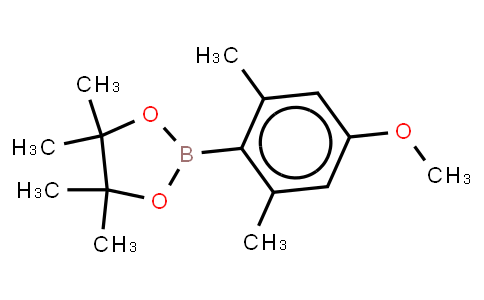 BP23673   1208459-72-6   4-Methoxy-2,6-dimethylphenylphenylboronic acid, pinacol ester