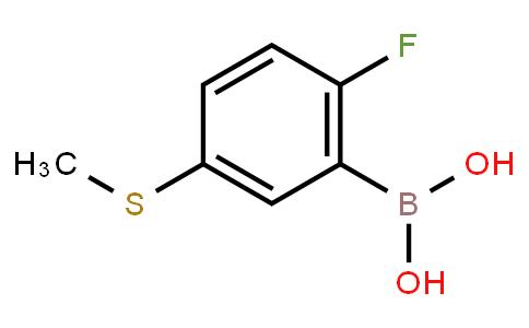 BP23691 | 2121512-51-2 | 2-Fluoro-5-(methylthio)phenylboronic acid