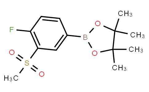 BP23694 | 1203655-90-6 | 4-Fluoro-3-(methylsulfonyl)phenylboronic acid pinacol ester