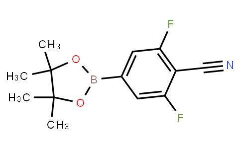 BP23713 | 1003298-73-4 | 2,6-Difluoro-4-(4,4,5,5-tetramethyl-1,3,2-dioxaborolan-2-yl)-benzonitrile